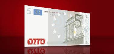 5 Euro Rabatt Startguthaben mit der OTTOcard