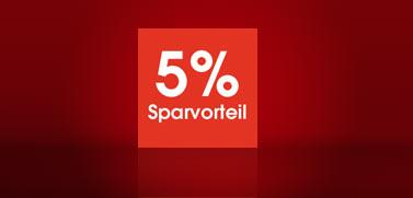 5% Sparvorteil mit der OTTOcard